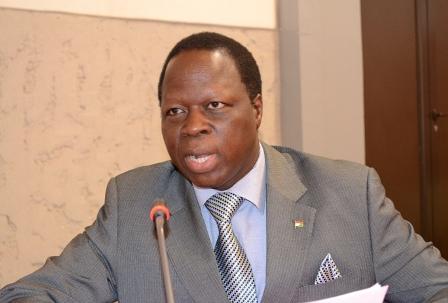 Yemdaogo Eric Tiaré, ambassadeur du Burkina en France