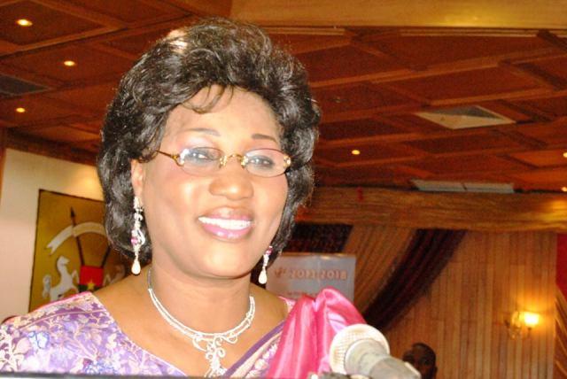 Alizèta Ouédraogo, nouvelle présidente de la CCI-Bf (Ph : Aristide Ouédraogo)