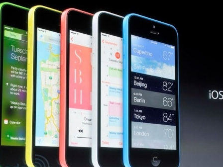 l'iPhone 5c, très coloré