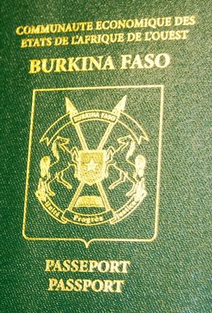 Le nouveau passeport CEDEAO © Burkina 24