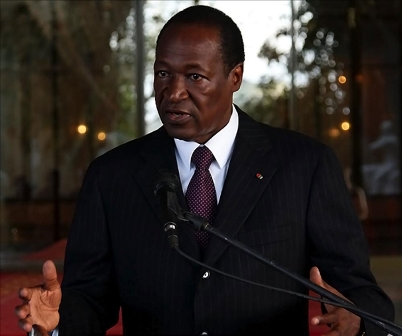 Blaise Compaoré, Président du Faso (Photo d'illustration - DR)