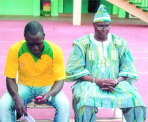 Cheich Oumar Koné coach de l'ASFA Yennenga