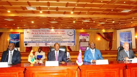 Le président du Faso, à la cérémonie d'ouverture de la conférence ce jeudi 12 septembre 2013.