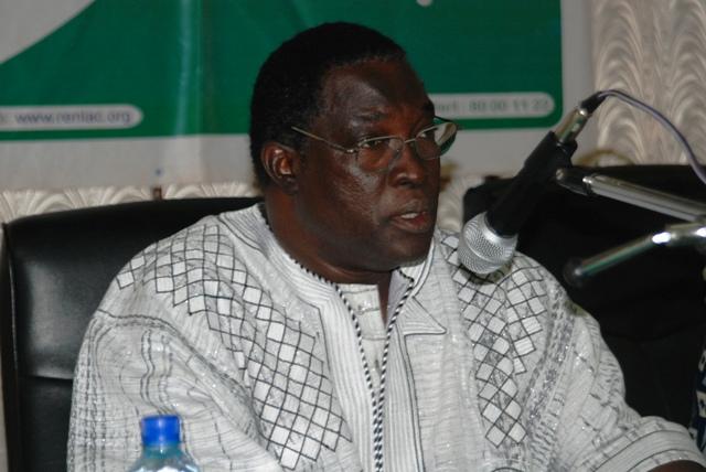 """Dr Claude Wetta, secrétaire exécutif du REN-LAC : """"L'impunité avance dangereusement"""" (Ph : B24)"""