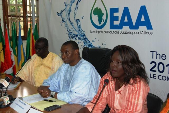 L'équipe de l'EAA dit s'apprêter pour le Forum de haut niveau qui aura lieu du 21 au 23 novembre 2013 à Abidjan (Ph : B24)