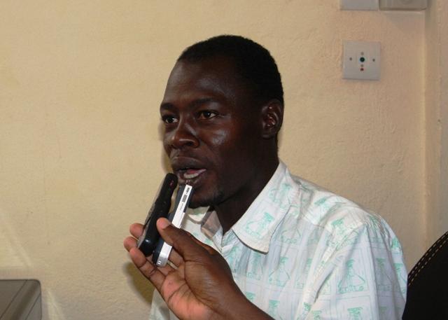 Hamadé Maïga, ancien conseiller municipal de l'ex-arrondissement de Nongr-massom (Ph : B24)