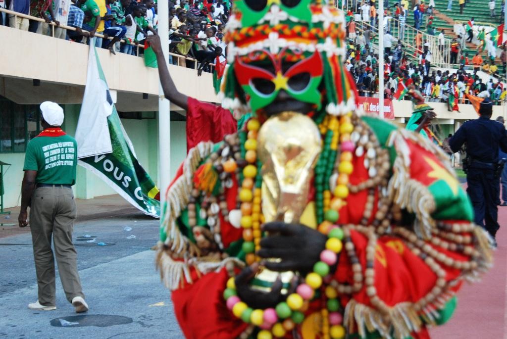 Un supporter des Étalons du Burkina croyant à la qualification de l'équipe burkinabè