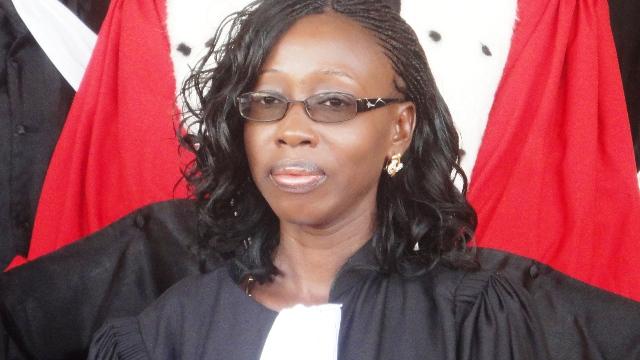 Alima Djemila Ouédraogo a prêté serment (Ph : B24)