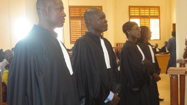 Les nouveaux notaires ont prêté serment devant la Cour d'appel (Ph : B24)