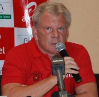 L'entraîneur des Étalons est confiant avant d'affronter le Gabon © Burkina 24