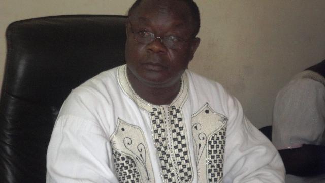 Anatole Bonkoungou,  désormais ex-membre de l'arrondissement 4 de Ouaga (Ph : B24)
