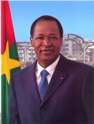 La nouvelle photo officielle du Président Compaoré. Ph.Présidence