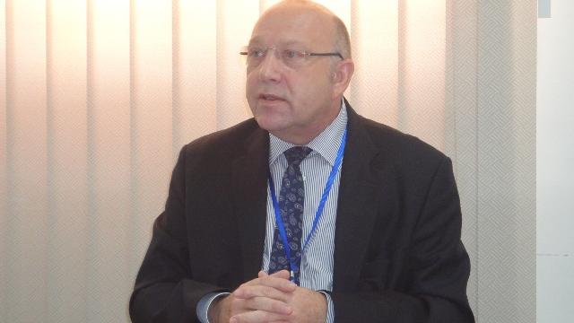 Paul Ginies, désormais ex-Directeur général du 2iE (Ph : B24)