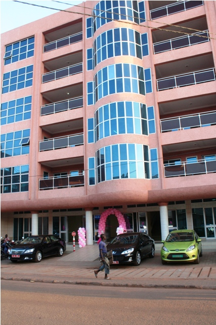 Le nouveau bâtiment du ministère de la promotion de la Femme (Ph : B24)