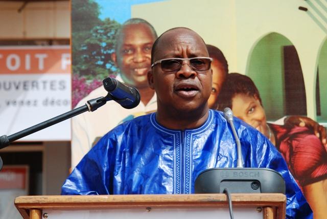 Yacouba Barry, ministre de l'Habitat et de l'urbanisme (Ph : B24)