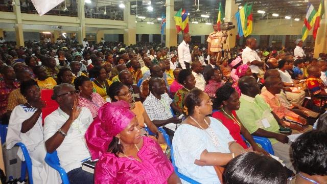 Ils sont 1 500 participants de 22 nationalités à la 8e CISCO - 29 octobre 2013 (Ph : B24)