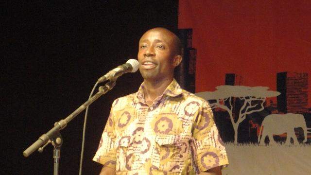 Boukary Tarnagda de l'Association des conteurs de Ouagadougou (Ph : B24)