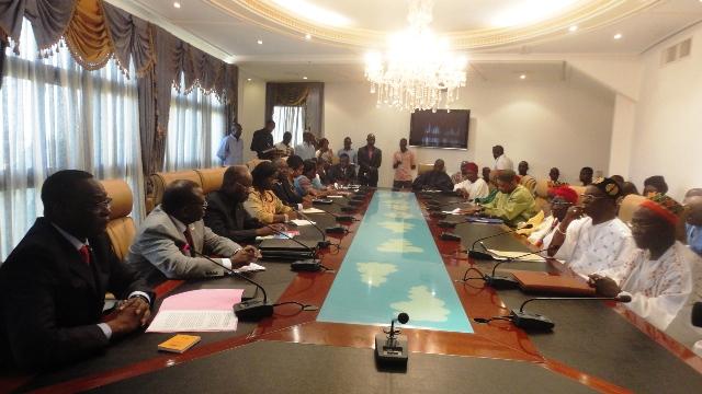 Les chefs coutumiers ont rencontré les membres du gouvernement pour expliquer leurs problèmes (Ph : B24)