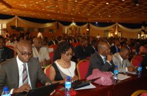 Une vue des participants au forum ICT