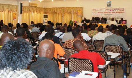 Une vue des participants aux débats. © Burkina 24