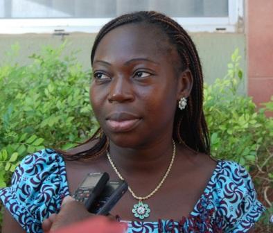 Mme Sawadogo/Zoungrana, participante à la formation.©Burkina24