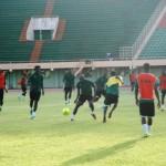 Barrage Mondial 2014/ Burkina # Algérie: Dernière séance publique des Etalons dans la bonne humeur