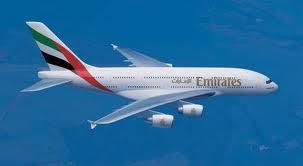Un avion de la compagnie des Emirats Arabes Unis (Ph : www.lefigaro.fr)