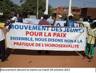 Le Mouvement des jeunes pour la paix est contre le projet municipal (Ph : Bayiri.com)