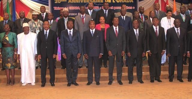Les Chefs d'Etat au sommet de l'OHADA (Ph : Labor Pesse)