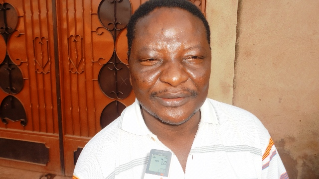 Souleymane Drabo, coordonnateur de l'Association Sphère du Burkina (Ph : B24)