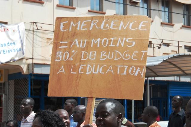 Les syndicats demandent une meilleure allocation du budget national à l'éducation (Ph : B24)