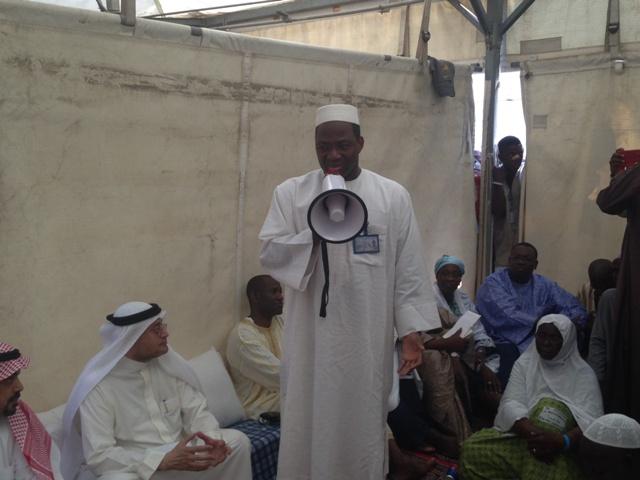 Djibrill Bassolé en musulman et diplomate (Ph : MAECR)
