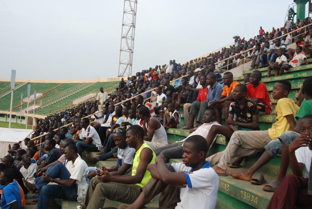 Les supporters des Étalons ont suivi l'entraînement de l'équipe nationale © Burkina 24
