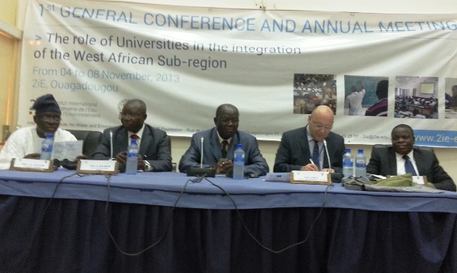 1ère conférence générale de l'association des universités d'Afrique de l'Ouest © Burkina 24