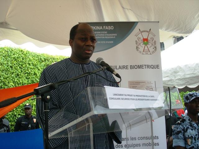 Djibrill Bassolé, ministre d'Etat en charge des Affaires étrangères (Ph : DCPM - MAECR)