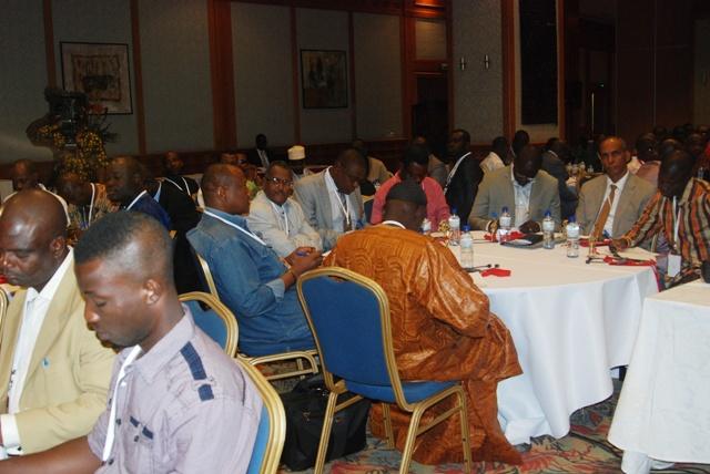 Les transporteurs du Groupe TOTAL à la deuxième convention à Ouagadougou (Ph : B24)