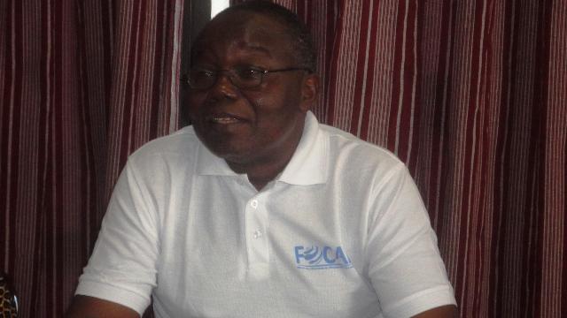 """Pr Luc Marius Ibriga, président du Faso : """"Nous ne devons pas gouverner le nez sur le guidon"""" (Ph : B24)"""