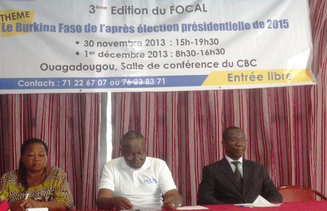 La 3e édition du FOCAL réfléchit sur les conditions d'une alternance apaisée au Burkina (Ph : B24)