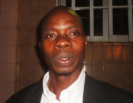 Emmanuel Yaméogo, président de l'Association SOS Justice et  Paix pour l'Afrique (Ph : B24)