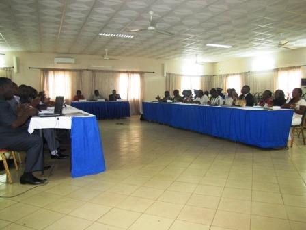 Une vue des participants à l'atelier de Kombissiri. Ph Fulbert