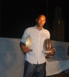 Mamadou Savadogo dit Mike est le MVP du championnat burkinabè de basketball saison 2012-2013