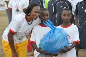 La directrice exécutive de Special Olympics Burkina a atteint son objectif qui est de permettre aux enfants de s'épanouir à travers le sport