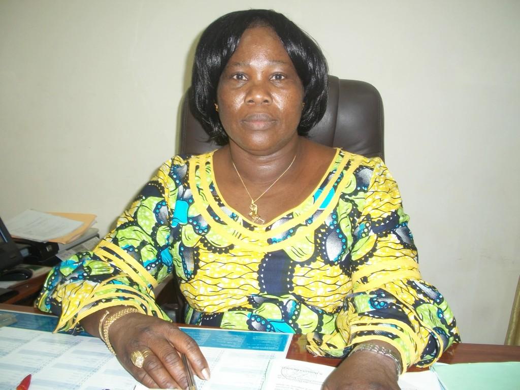 Maître Ezomboè Noel BAYALA, notaire à Ouagadougou, présidente de l'Ordre des notaires burkinabè
