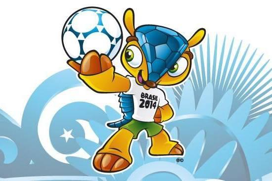 La mascotte de la coupe du monde 2014