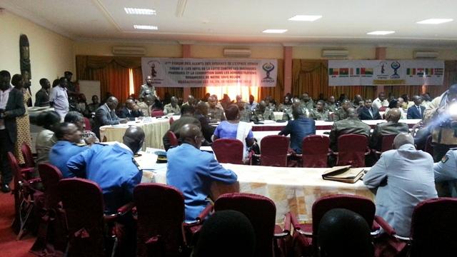 Le 4e forum des agents des douanes de l'espace UEMOA se tient à Ouagadougou du 18 au 20 décembre  2013 (Ph : B24)