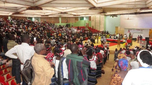 Les militants du PDC sont venus nombreux à la commémoration du premier anniversaire du parti (Ph : B24)