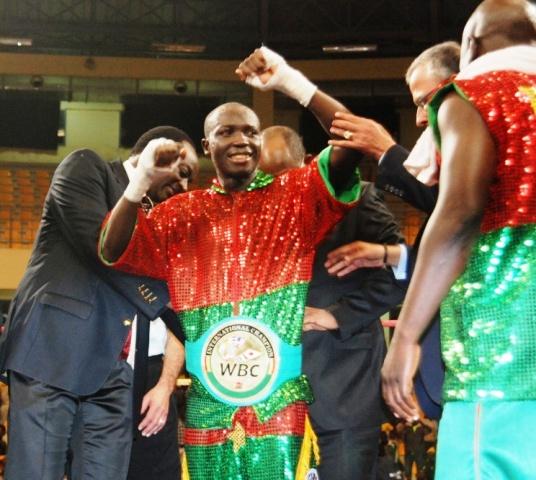 Alexis Kaboré dit Yoyo est champion du monde WBC super coqs © Burkina 24