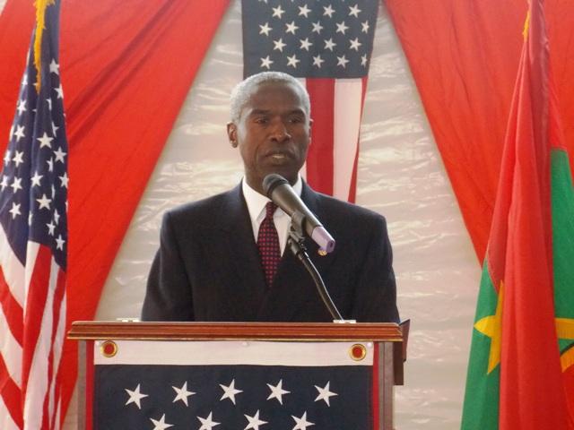 L'ambassadeur des USA d'Amérique au Burkina, Tulinabo S. Mushingi (Ph : B24)