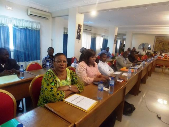 Les participants à l'atelier de sensibilisation (Ph : B24)