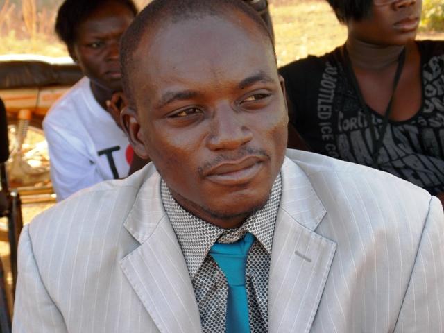 Amos Binguelet, président de la Communauté centrafricaine au Burkina (Ph : B24)